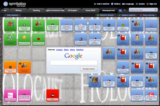 Holocaust Symbaloo